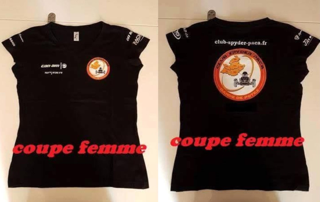 T-Shirt femme - modèle 2018 - 20 €