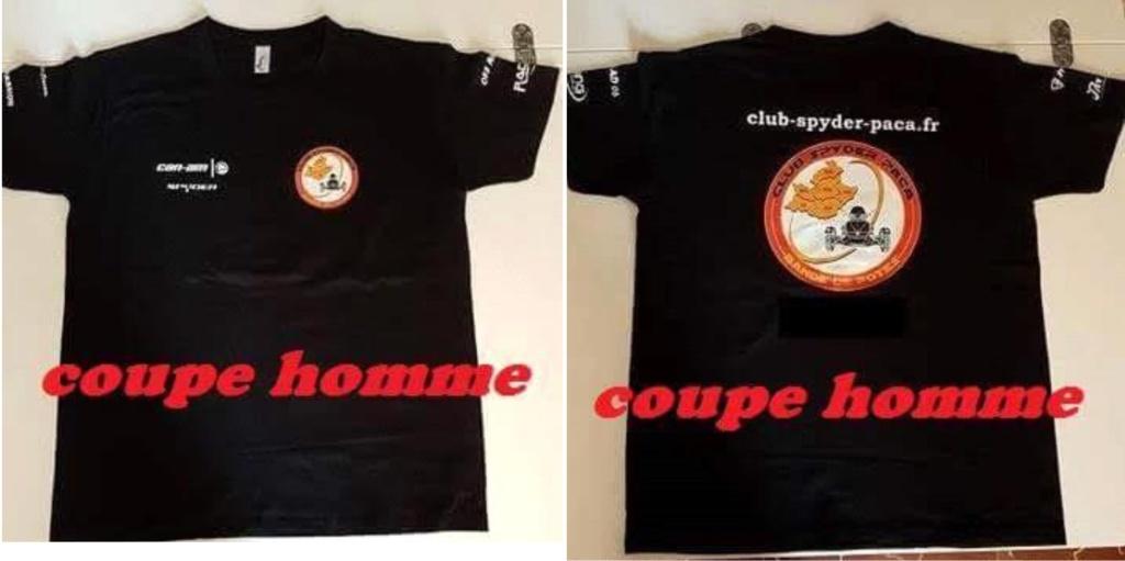 T-Shirt homme - modèle 2018 - 20 €
