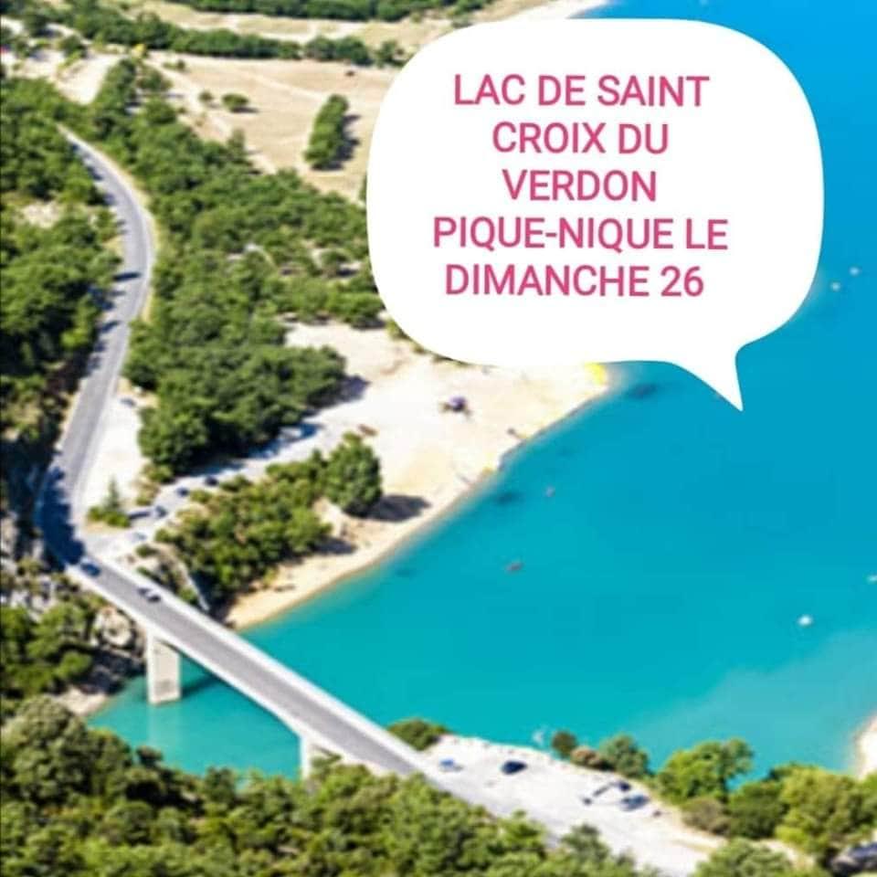 Lac des Sainte Croix